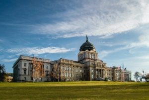 Capital Building in Helena Montana